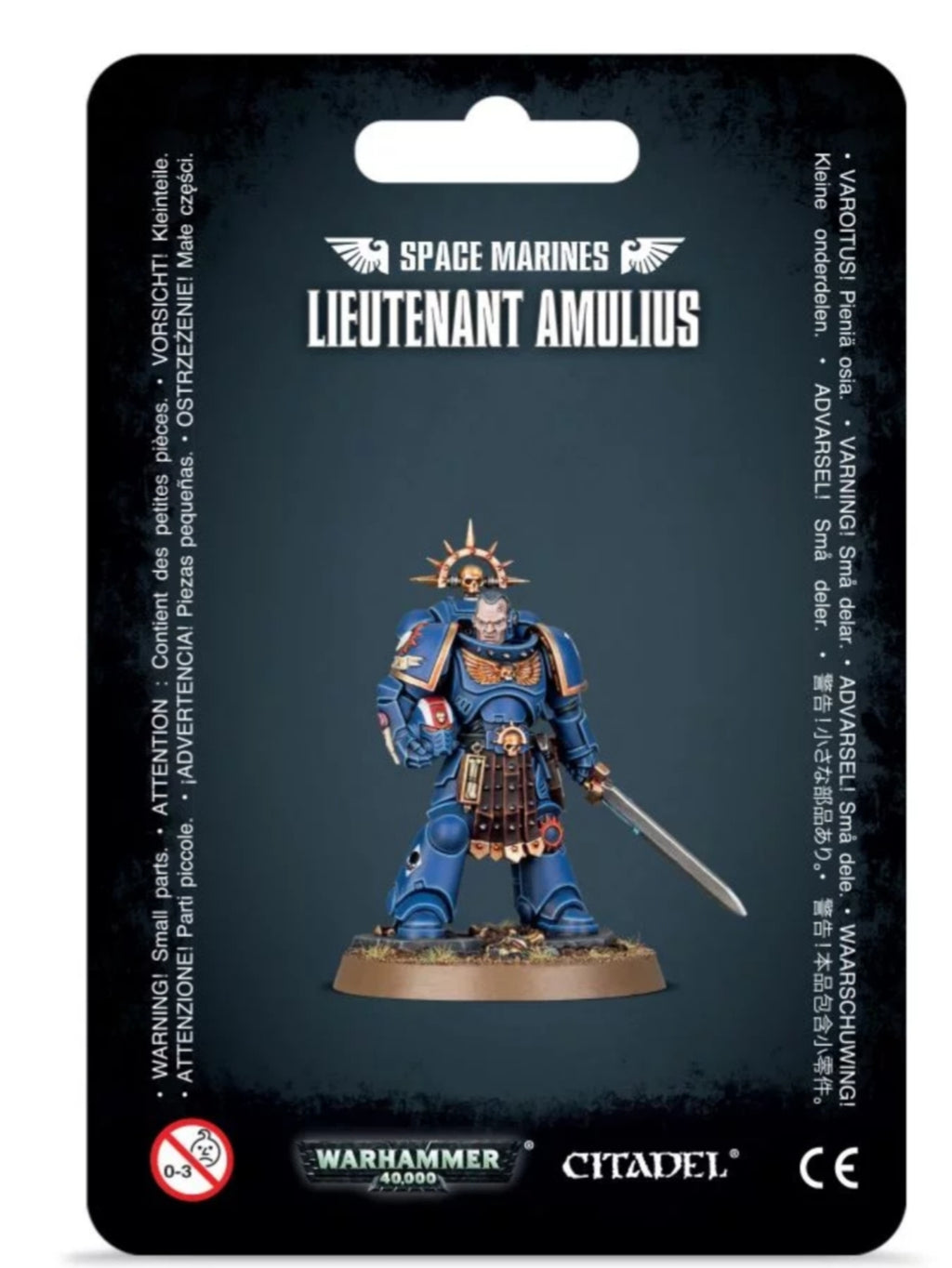 Games Workshop  Primaris Lieutenant Amulius