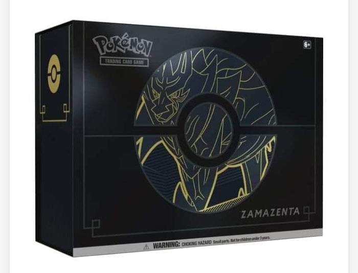 Pokemon TCG: Sword & Shield Elite Trainer Box Plus Zamazenta