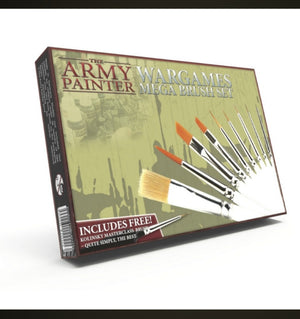 The Army Painter Wargames mega brushset