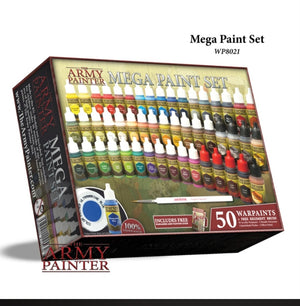 The Army Painter Warpaints Mega Paint Set III