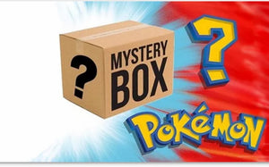 Pokemon TCG mystery box! GYM Leader box!