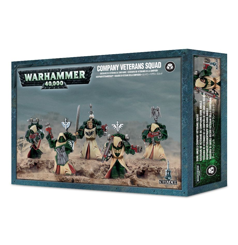 Games Workshop Company Veteran Squad/ Fallen