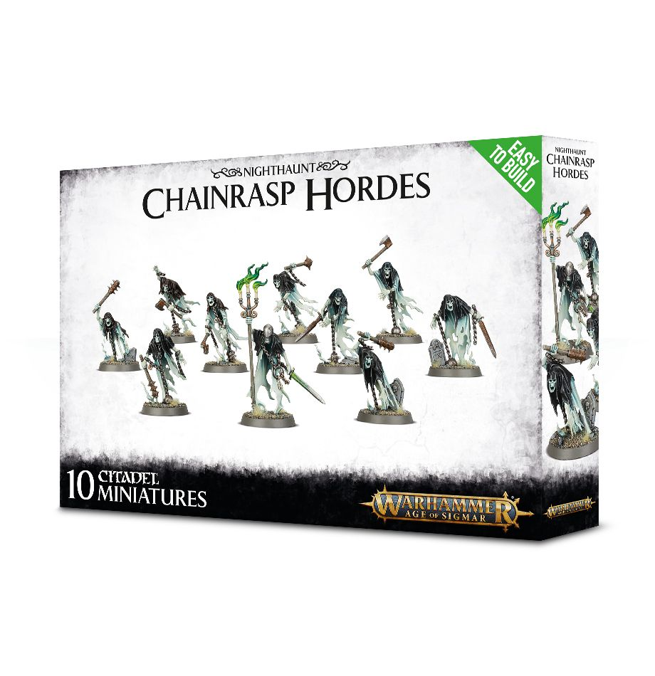 Games Workshop Easy To Build Chainrasp Hordes