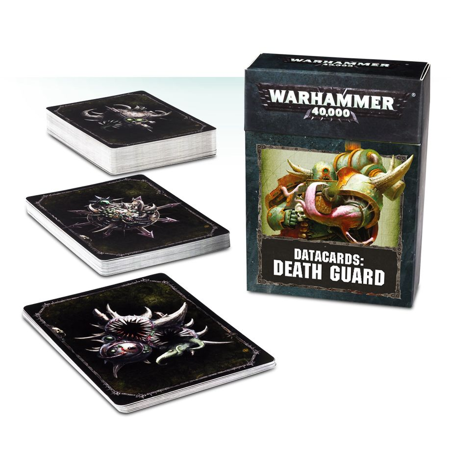 Games Workshop Death Guard Datacards