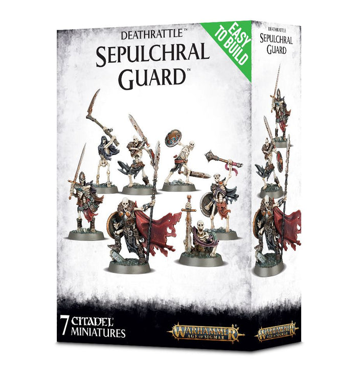 Games Workshop  Easy To Build Deathrattle Sepulchulchral Guard