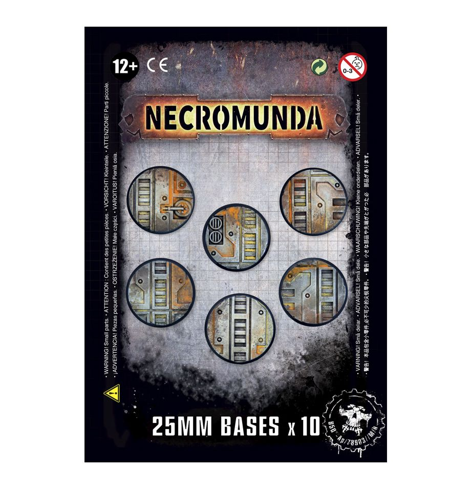 Gamer Workshop  Necromunda 25Mm Bases