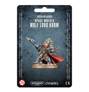 Games Workshop Wolf Lord Krom