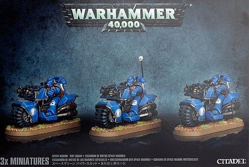 Games Workshop Bike Squad