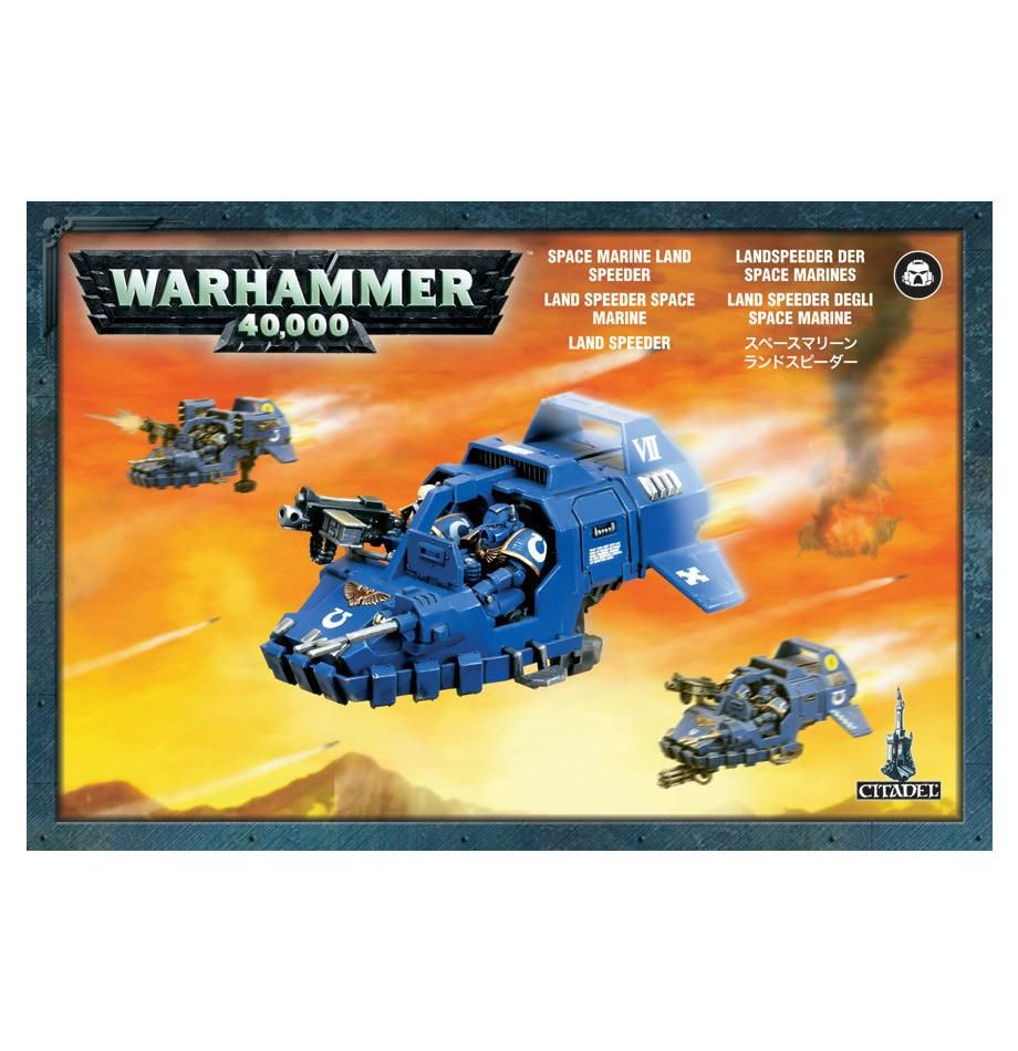 Games Workshop Space Marines Land Speeders