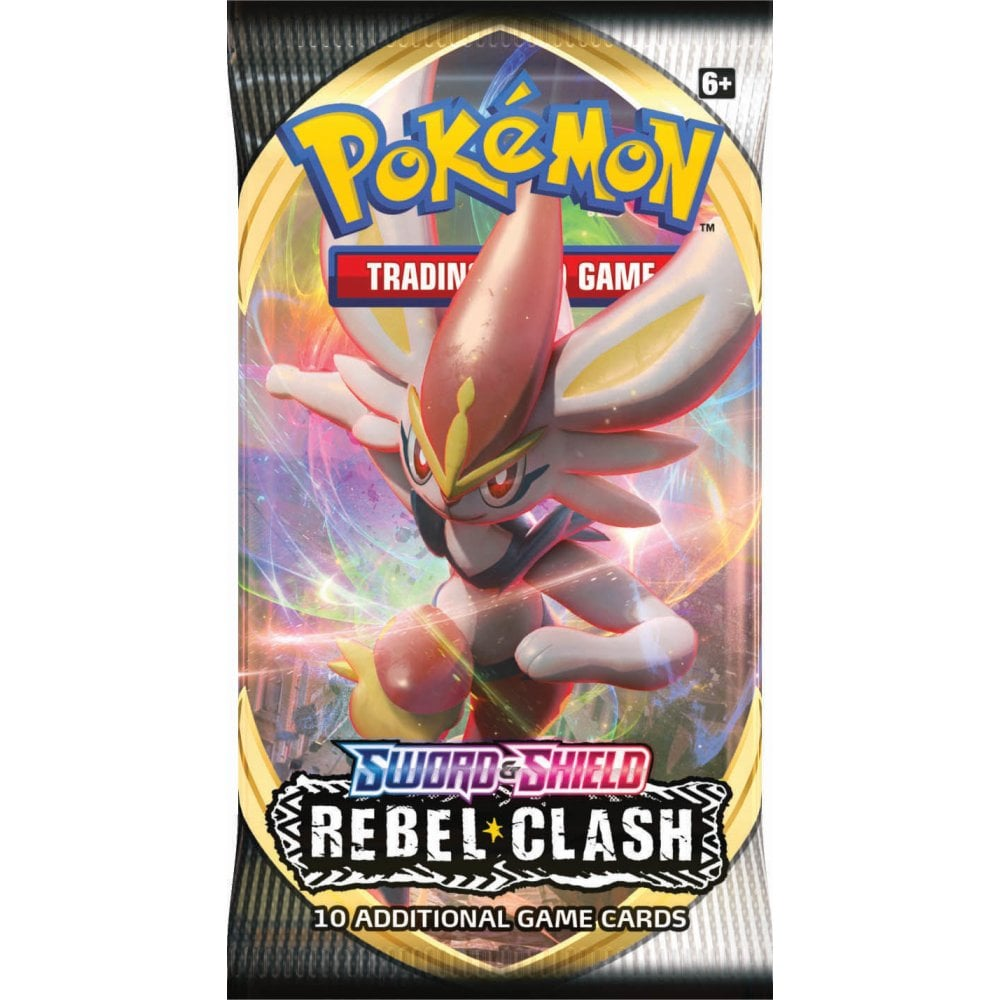 POKEMON Booster Pack (10 Cards) - Sword and Shield Rebel
