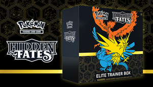 Pokemon TCG: Hidden Fates Elite Trainer Box(reprint)  More stock going up for sale in January.