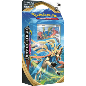 POKEMON Theme Deck : Zacian - Sword and Shield Rebel Clash