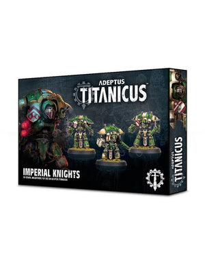 Games Workshop Adeptus Titanicus: Imperial Questoris Knights