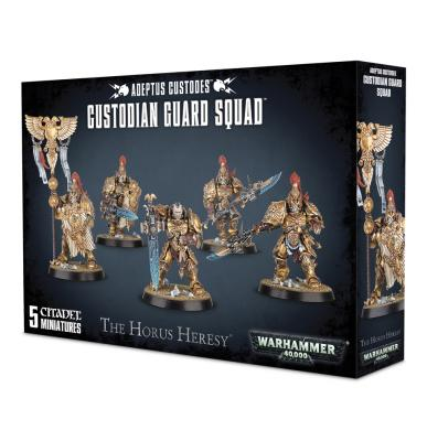 Games Workshop Custodian Guard Squad/ Vexilus Praetor / Shield Captain