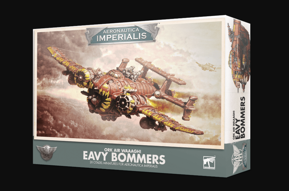 Games Workshop Ork Air Waaagh! Eavy Bommers