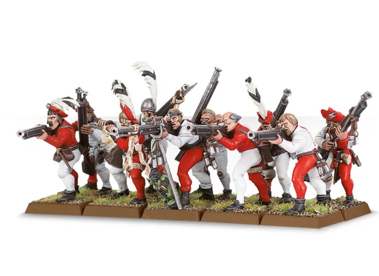 Games Workshop  Freeguild Handgunners  /Crossbowmen.