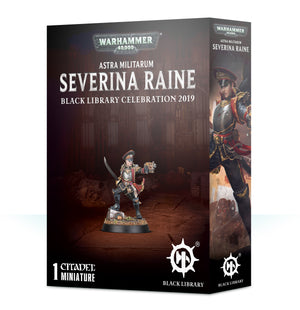 Games Workshop ASTRA MILITARUM SEVERINA RAINE COMMISSAR  LIMITED EDITION