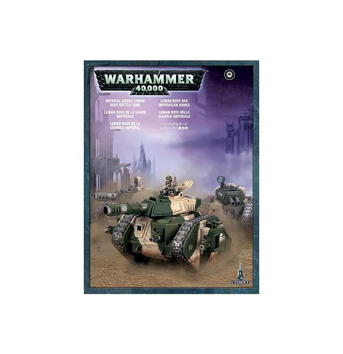 Games Workshop Leman Russ Battle Tank / Eradicator / Exterminator Or Vanquisher
