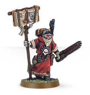 Games Workshop Missionary with Chainsword