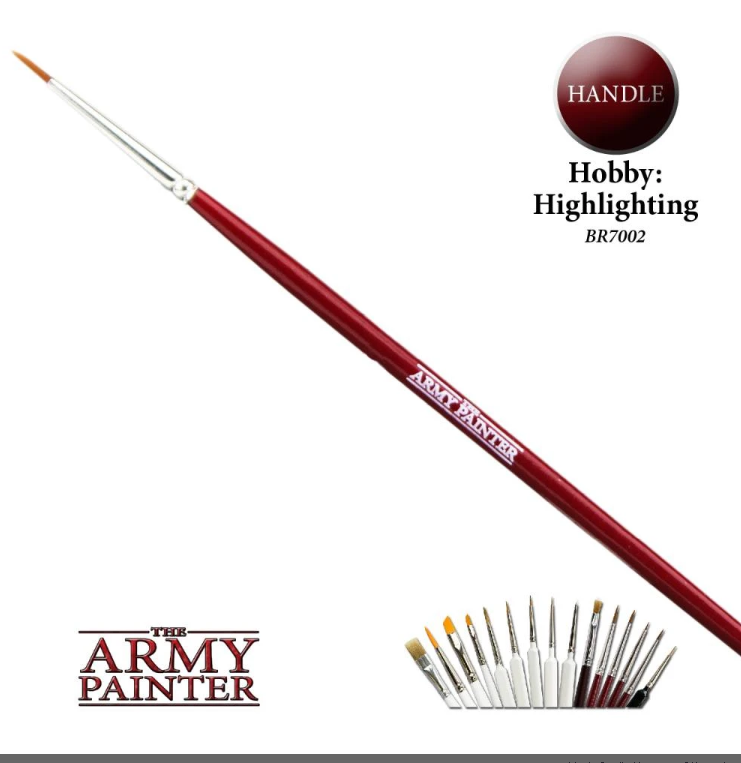 The Army Painter Highlighting Brush