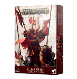 Games Workshop Broken Realms: Rokar Gresh – Gresh's Iron Reapers