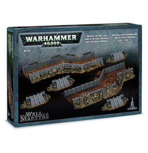 Games Workshop Wall of Martyrs - Imperial Defence Line