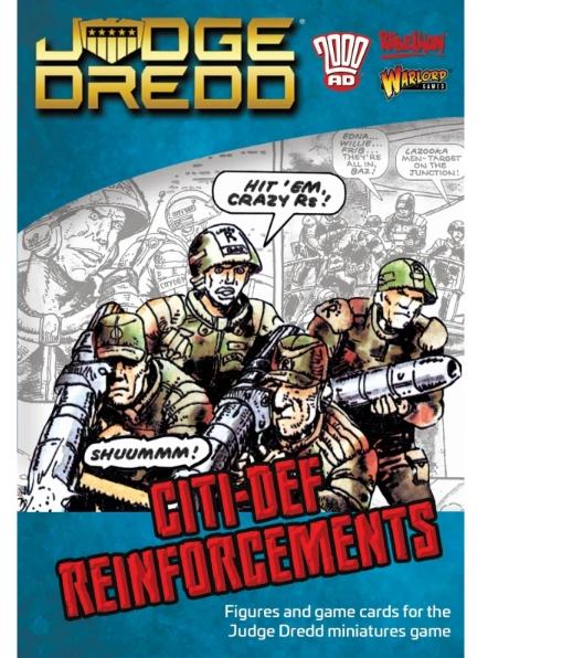 Warlord Games Judge Dredd: City-Def Reinforcements