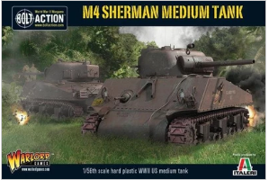Bolt Action M4 Sherman medium tank (plastic)