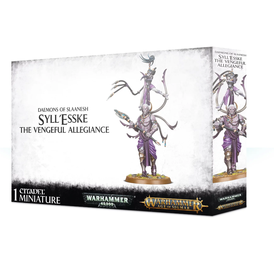 Games Workshop Syll'Esske: The Vengeful Allegiance