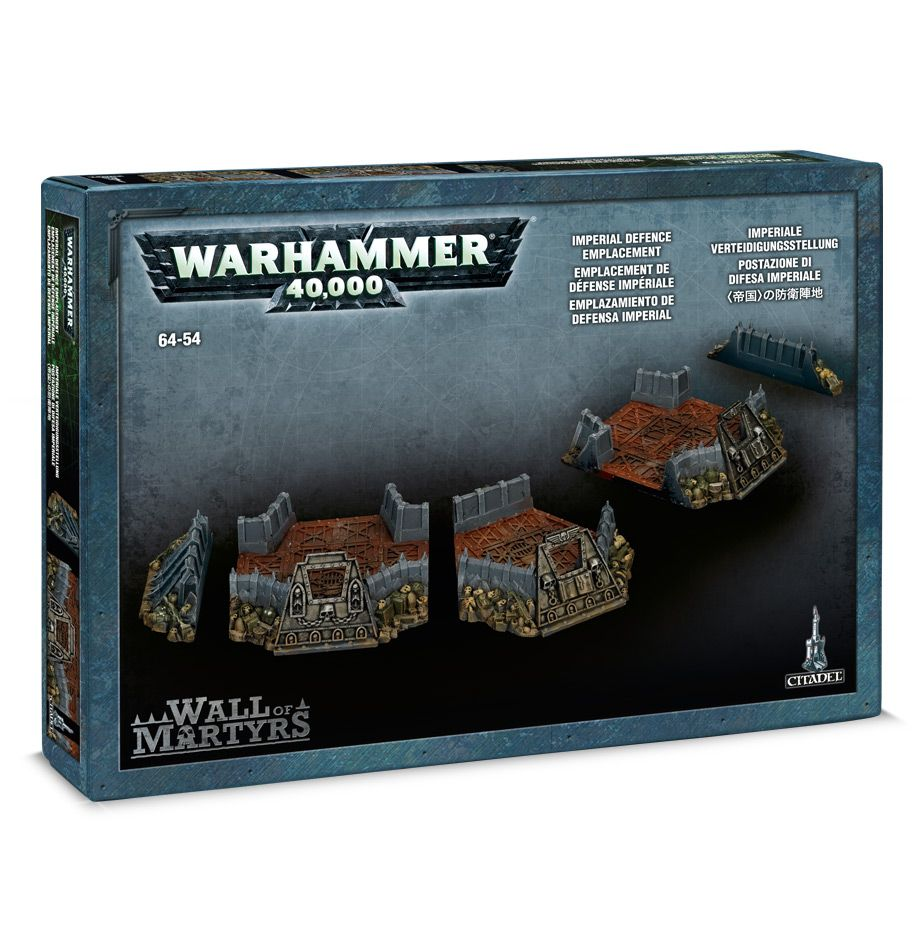 Games Workshop Wall of Martyrs - Imperial Defence Emplacement