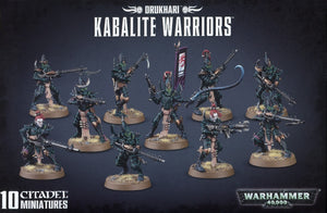 Games Workshop Kabalite Warriors