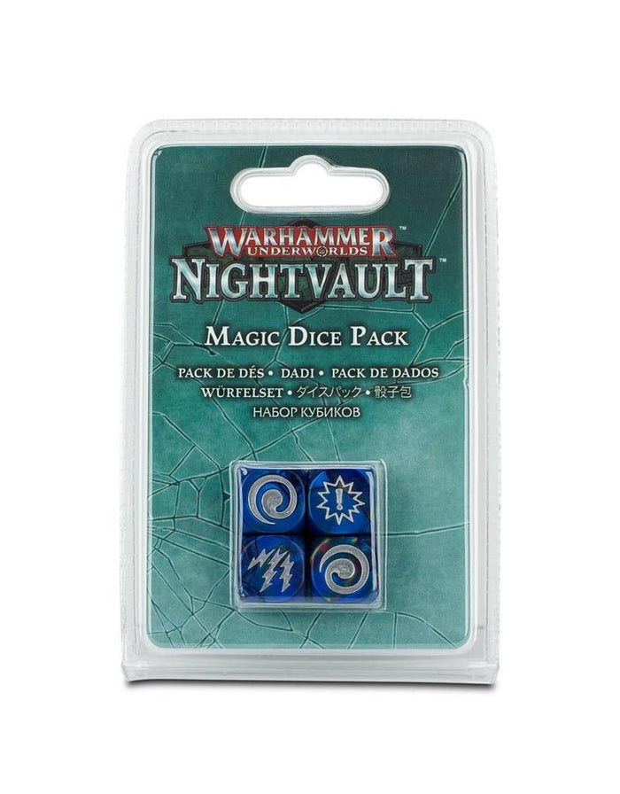 Games Workshop Warhammer Underworlds Nightvault: Magic Dice Set