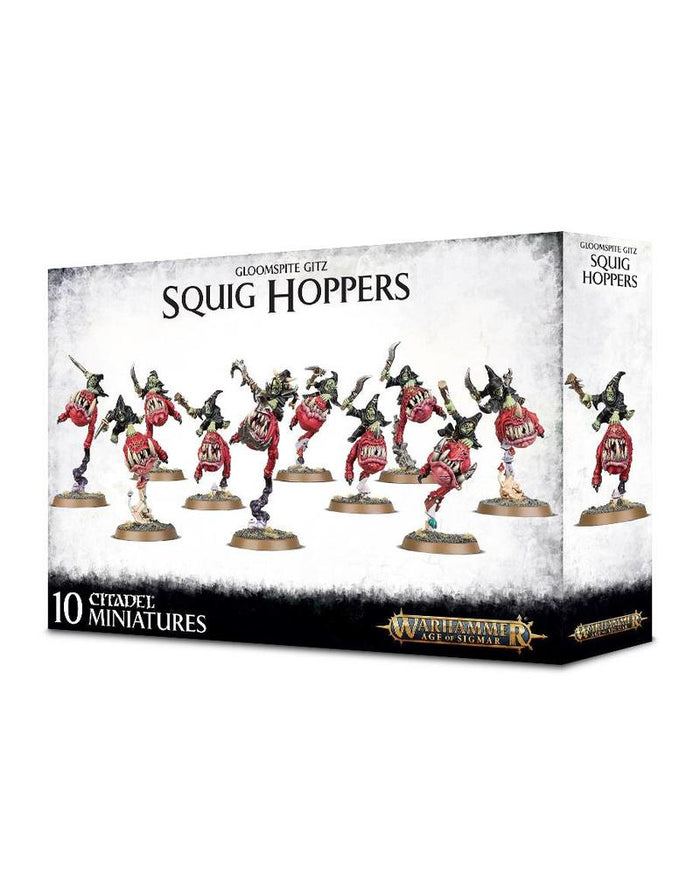 GAMES WORKSHOP GLOOMSPITE GITZ: SQUIG HOPPERS