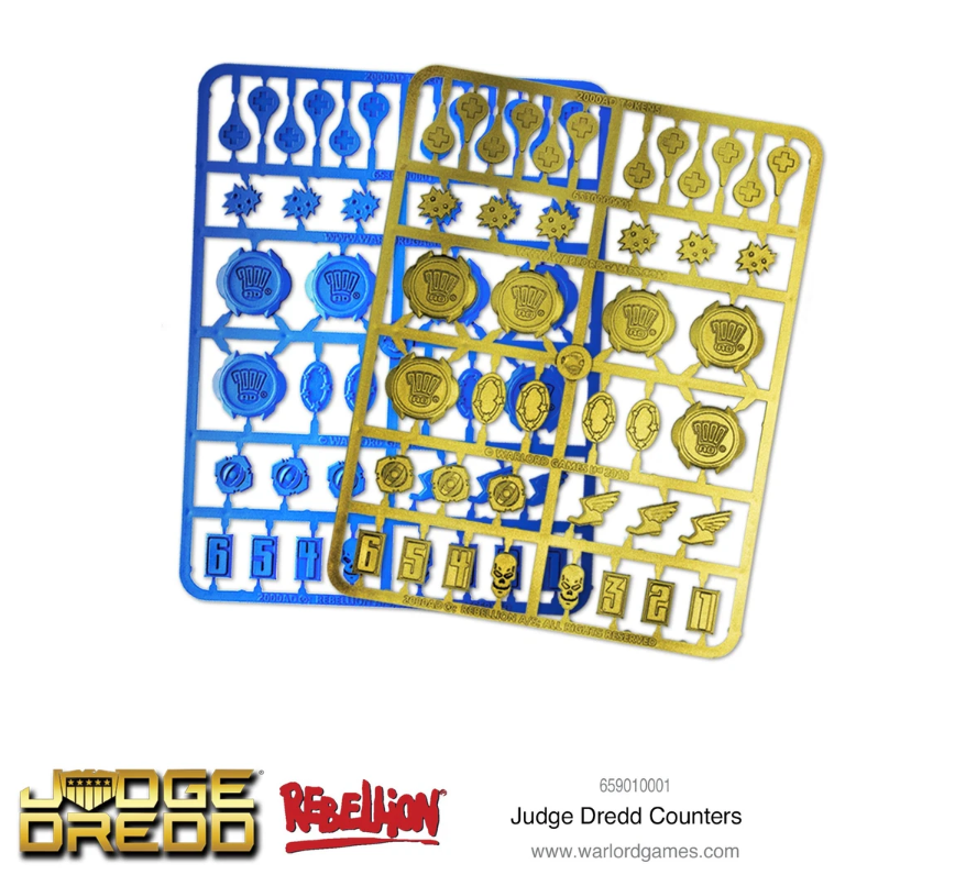 2000 AD Judge Dredd Counters