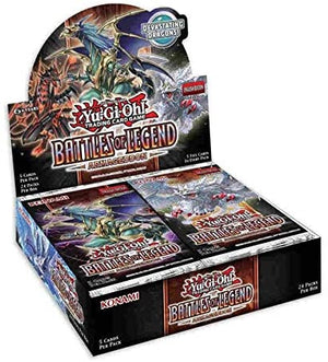 YU-GI-OH! Booster BOX (24 packs) - 1st Ed : Battles of Legend Armageddon