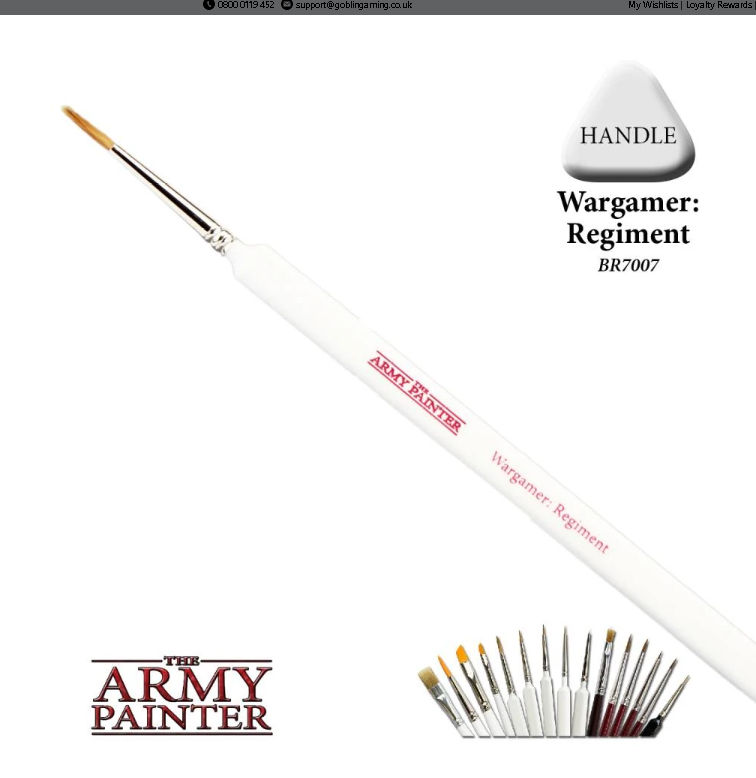 The Army Painter Regiment Brush