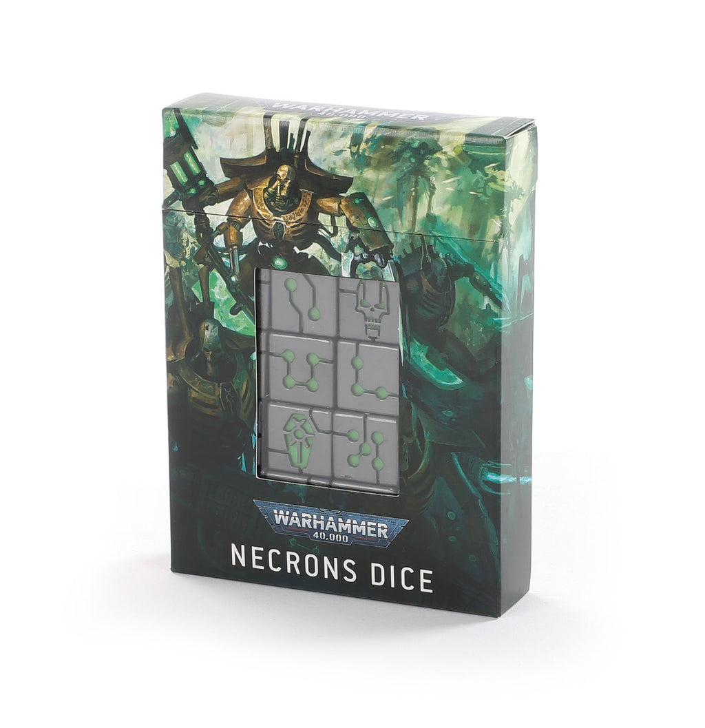 Games Workshop Necrons Dice Set - Warhammer 40k