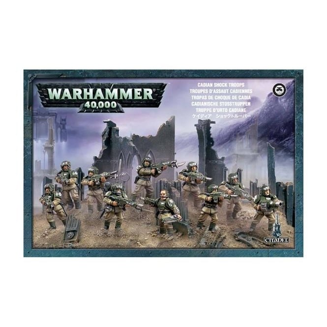 Games Workshop Cadian Shock Troops