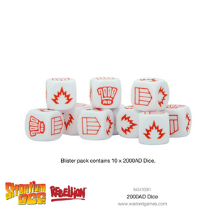 Warlord Games 2000 AD Dice