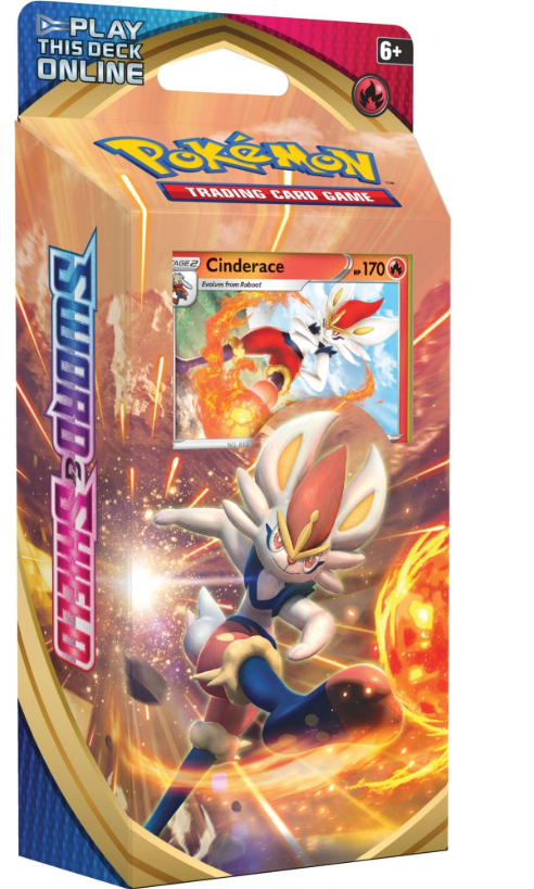 POKEMON Theme Deck : Cinderace - Sword and Shield