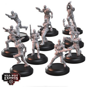 WWX: Union Armoured Riflemen and Guard