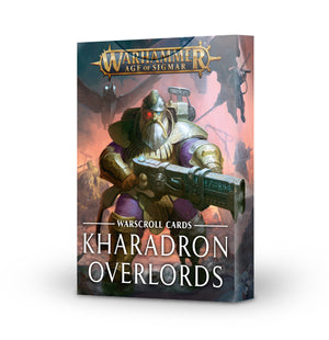 Games Workshop Warscroll Cards: Kharadron Overlords