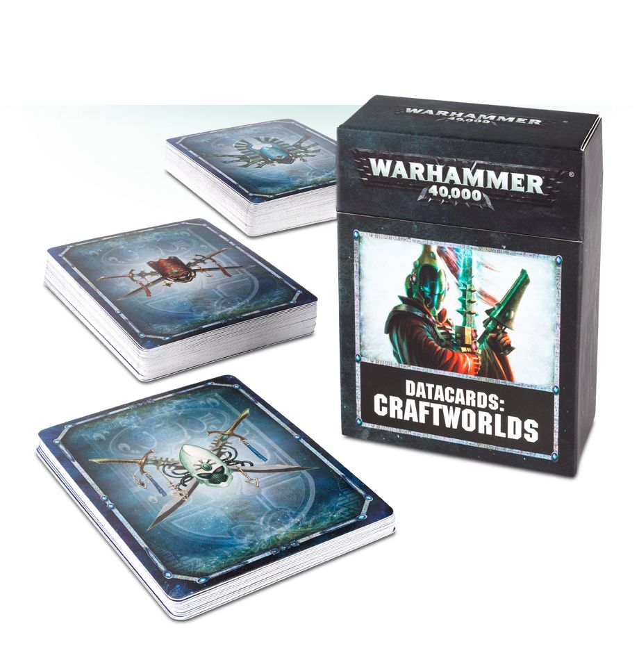 Games Workshop Datacards Craftworld