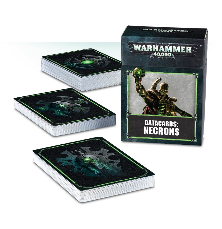 Games Workshop  Datacards Necrons