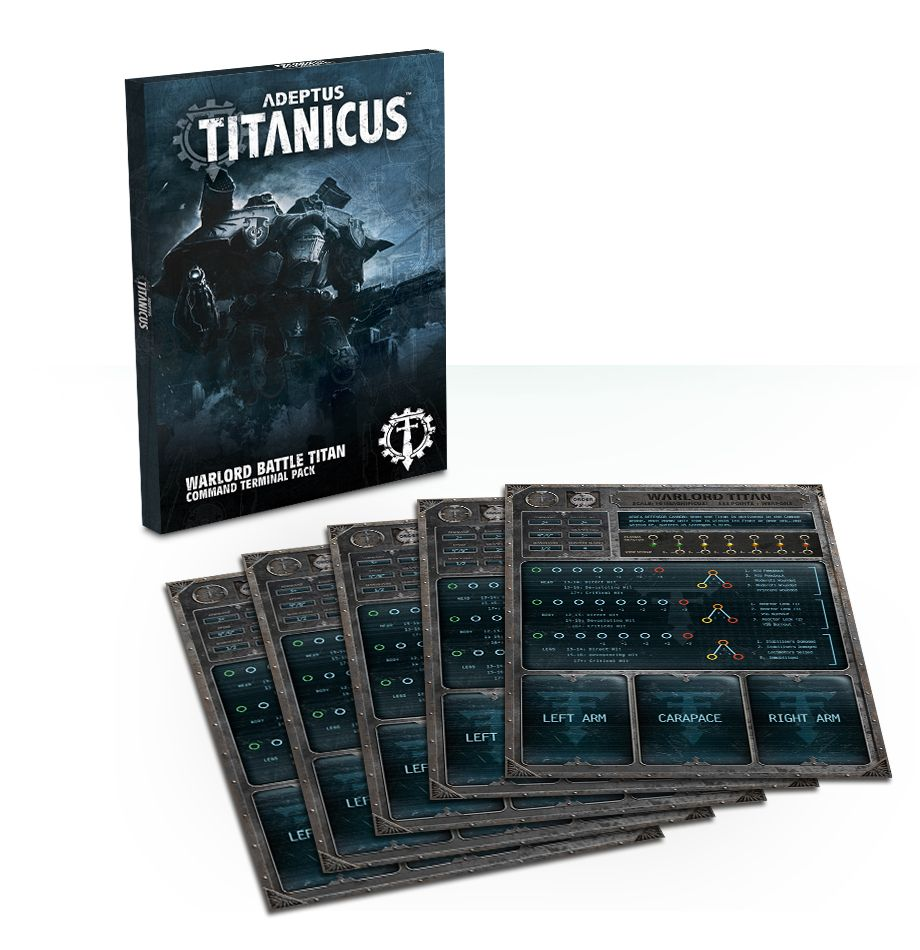Games Workshop Adeptus Titanicus Warlord Battle Titan Command Terminal Pack