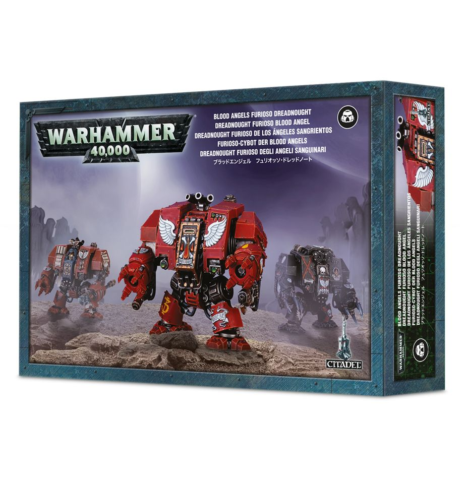 Games Workshop Blood Angels Furioso Dreadnought/ Librarian Dreadnought / Death Company Dreadnought