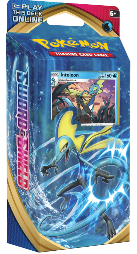 POKEMON Theme Deck : Inteleon - Sword and Shield