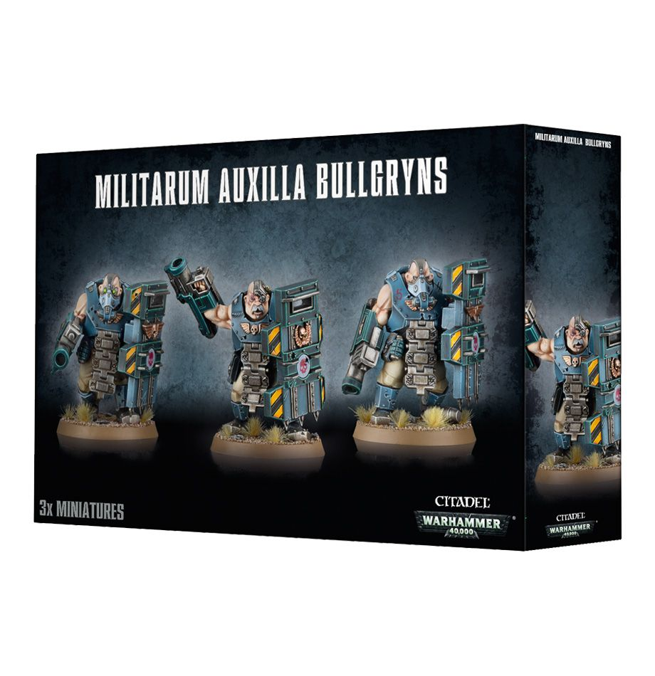 Games Workshop Miliarum Auxilla Bullgryns / Oryns