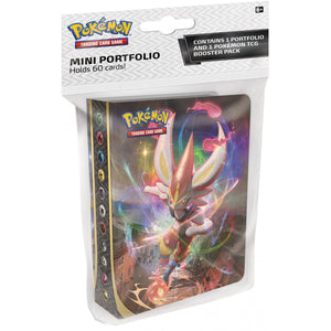 POKEMON Collector's Album Pack (Album + 1 Pack) - Sword and Shield Rebel Clash