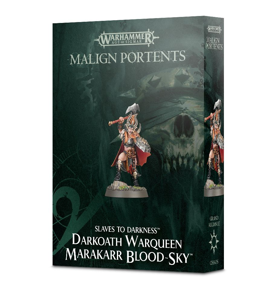 Games Workshop Darkoath Warqueen Marakarr Blood-Sky